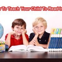 How To Teach Your Child To Read In English